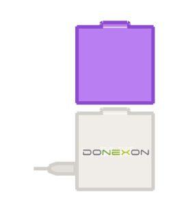 Symbolabbildung Donexon domo mit Z-Wave Modul