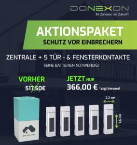 Aktion_Donexon_enocean+5TürundFensterkontakte-instagram